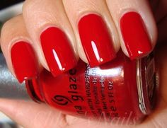 Perfect Red Nail Polish