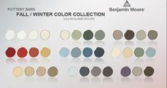 Benjamin Moore Colors for Pottery Barn
