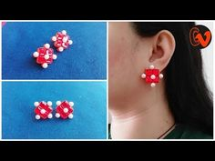 How To Make Quilling Stud Earrings Tutorial / Paper Quilling Earrings / Design 29 Hello all, Welcome to Creative V Channel, here you can watch and learn how . Quilling Studs, Paper Quilling Earrings, Quilling Comb, Neli Quilling, Quilling Jewelry, Diy Jewelry, Jewlery, Welding Projects, Woodworking Projects