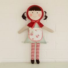 Love this Little red riding hood inspired doll.