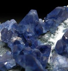 Benitoite Benitoite Gem Mine, San Benito Co., California small cabinet - 7.7 x 6.3 x 2 cm