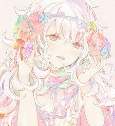 *:・゚✧ Anime Artwork *:・゚✧ Pastel Anime.