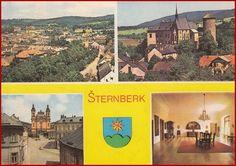 Šternberk * erb, části města * Olomouc * BV2206 Baseball Cards, Sports, Hs Sports, Sport