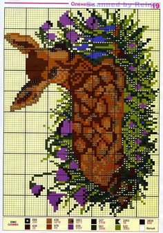 Fawn Cross Stitch