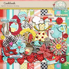 Cookbook by Boutique Cute Doll