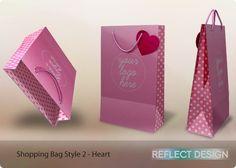 Reflect Design - Shopping Bag 2 - Heart