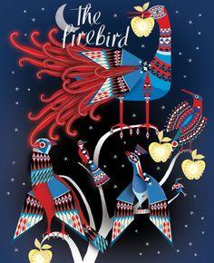 The Firebird: Lesley Barnes illustrations Create Animation, Firebird, Children's Book Illustration, Bird Feathers, Childrens Books, Fairy Tales, Birds, Artist, Bbc Channel