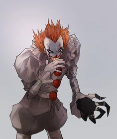 Horror Movie Characters, Horror Movies, Dragon Ball, Scary Drawings, Clown Horror, Cute Clown, Pennywise The Clown, Fan Art, Illustrations