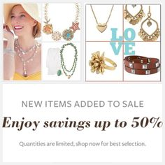 www.stelladot.com/kstines Memorial Day Sale...Up to 50% off of Stella & Dot best sellers!! Shop now for best selection!