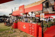 ESTRELLA DAMM AT TASTE | Creative concept, design, build and production. Taste of Sydney, Centennial Park & Taste of Melbourne Albert Park for Asahi Premium Beverages