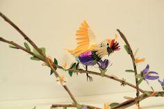 Beautiful bird sculptures made out of paper (93)