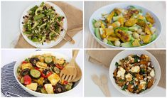 My top four nourishing, delicious summer salad ideas - Eat Well NZ Food In A Minute, Taste Made, How To Make Salad, Summer Salads, Healthy Smoothies, Eating Well, Salad Ideas, Meal Prep, Healthy Eating