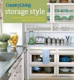 NEW Country Living Storage Style BY Lesley Porcelli Paperback Book | eBay