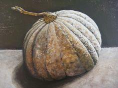 Pumpkin,acrylic on canvas BY LOUISE GROVE WIECHERS