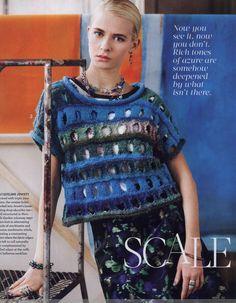 Noro Knitting Magazine 2014 春/夏 - 紫苏 - 紫苏的博客