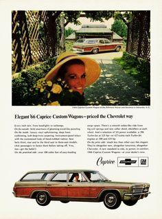 1966 Chevrolet Caprice Custom Wagon