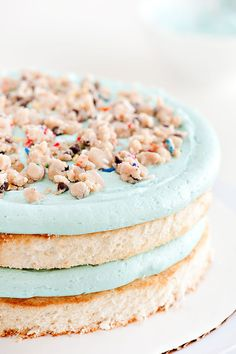 Confetti Cookie Dough Cake
