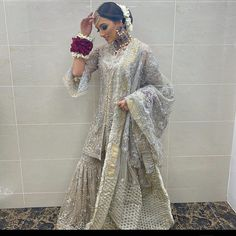 Pakistani Wedding Outfits, Indian Outfits, Indian Clothes, Celebrity Style Dresses, Nikkah Dress, Afghan Dresses, Desi Wear, Bridal Lehenga Choli, Party Wear Dresses