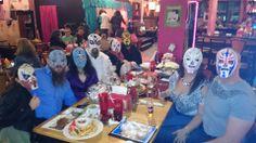 Our entire Luchadora Entourage for 2-12-14 at Hamburger Mary's for Drag Queen Bingo having a shit ton of fun!