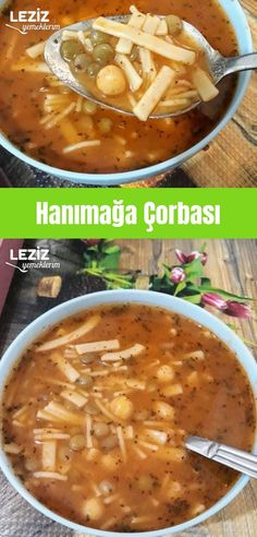 Beet and Feta Salad cheese bagel recipe and making Hanımağa Çorbası Lady's Soup Beet and Feta Salad cheese bagel recipe and making Iftar, Turkish Recipes, Ethnic Recipes, Soup Recipes, Dinner Recipes, Pasta, Curry, Food And Drink, Yummy Food