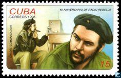 "Postage Stamps - Cuba [CUB] - 40 Jahre ""Radio Rebelde"""