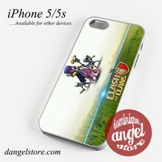Clash of Clans Which Phone case for iPhone 4/4s/5/5c/5s/6/6 plus