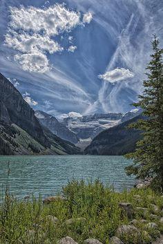 Lake Louise - Alberta, Canada. By Roberta Peake