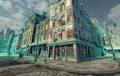 Manhattan 3d environment