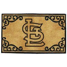 St. Louis Cardinals doormat--for the ultimate fan!