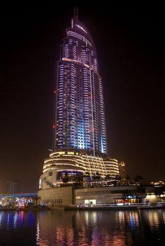 Dubai Mall Hotel, Dubai.   Wonderful Places