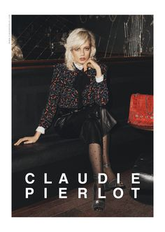 Lookbook Claudie Pierlot, Automne-Hiver 2016-17 – Marjan Jonkman