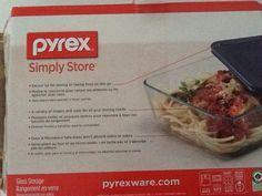 Pyrex 6 pc