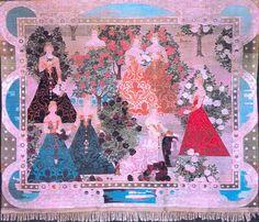In the Rose Garfen 1904  by Frida Hansen