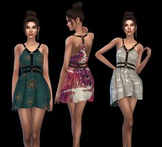 Leo 4 Sims: Abernathy Dress • Sims 4 Downloads
