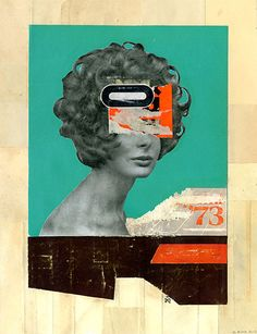 Collage art by Melbourne-based Kareem Rizk