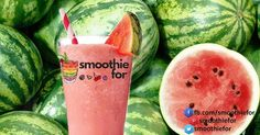 Watermelon smoothie for weight loss has the high density of fibers and therefore it eases the bowels movement.