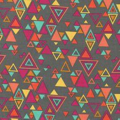 Rashida Coleman Hale - Washi - Washi Triangles in Charcoal