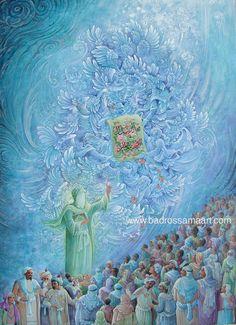 TOUCHING HEARTS: REZA BADROSSAMA - Paintings