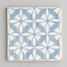 Estoril - handpainted, handmade patterned grey and white tiles. Portuguese tiles for bathrooms and kitchens from Everett and Blue Patterned Kitchen Tiles, Grey Tiles, White Tiles, Layout Design, Tile Design, Portuguese Tiles, Reno, Tile Patterns, Decoration