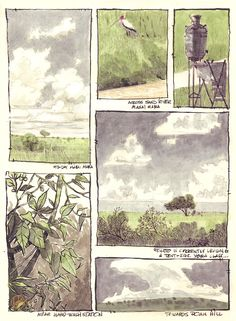 A page from my sketchbook while in Kenya last week. What an absolutely AMAZING trip. They should have sent a poet!
