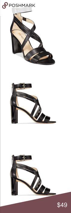BRAND NEW Nine West Sandals - Black End of summer sale! Super sexy black Nine West sandals, 3.5in block heel. Nine West Shoes Sandals