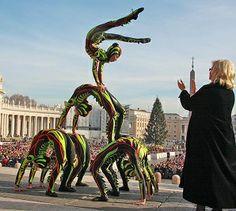 L'invito del Papa al Circo di Liana Orfei: portate allegria
