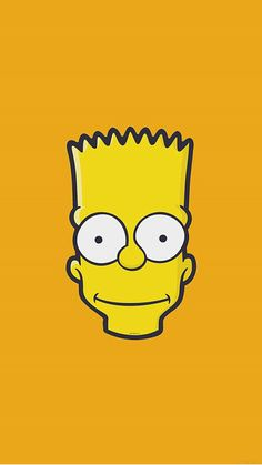 Bart Simpson Face Illust Art Yellow Minimal Simple Iphone intended for The Most The Simpsons Wallpaper Iphone 6 - All Cartoon Wallpapers Simpson Wallpaper Iphone, Tumblr Iphone Wallpaper, Boys Wallpaper, Best Iphone Wallpapers, Cute Wallpaper For Phone, Cute Wallpaper Backgrounds, Cartoon Wallpaper, Wallpaper Wallpapers, Minimal Wallpaper