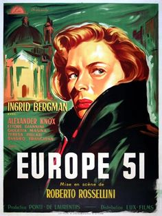 Europa '51 - Directed by Roberto Rossellini (1952)