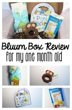 Bluum Box Review + Coupon January 2016- for my One Month Old