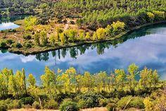 Otoño en Ruidera la mejor época del año para visitar las lagunas  Laguna Lengua Ossa de Montiel #nature #photography