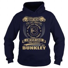 Awesome Tee BUNKLEY Last Name, Surname Tshirt T-Shirts