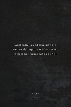 Extremely. #infj #infjlife