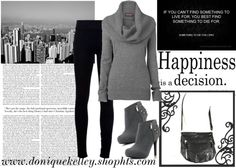 """Black & Grey"" by believekelley on Polyvore"