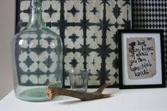Tine K Batikpaper: I'm loving it! Im In Love, Canning, Bottle, Glass, Home Decor, Decoration Home, Drinkware, Room Decor, Flask